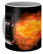 Close-up Of A Gun Firing A Bullet Coffee Mug