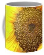 Close Up Of A Sunflower Head Coffee Mug