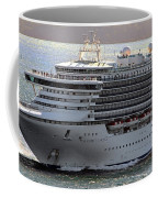 Close Up Of Diamond Princess Coffee Mug