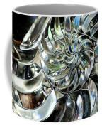 Close-up Of Glass Chambered Nautilus Coffee Mug