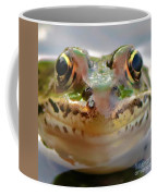 Close-up Of Leopard Frog Coffee Mug