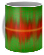 Close-up Of Sound Waves Coffee Mug