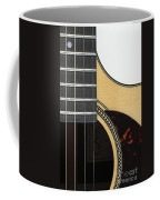 Close-up Of Steel-string Guitar Coffee Mug