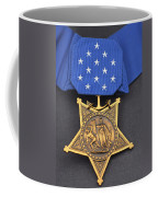 Close-up Of The Medal Of Honor Award Coffee Mug