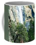 Close Up Of Waterfall  Coffee Mug