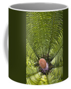Close-up Palm Leaves Coffee Mug