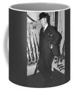 Close Up Viet Nam Vet John Dane With His Weapons Collection American Fork Utah 1975 Coffee Mug
