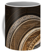 Close-up View Of Moorish Arches In The Alhambra Palace In Granad Coffee Mug