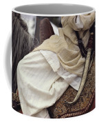 Close View Of A Scimitar On A Horseback Coffee Mug by Steve Winter