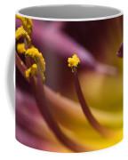 Close View Of Stamen Of A Flower Coffee Mug
