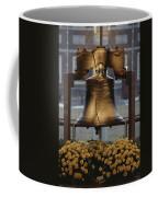 Close View Of The Liberty Bell Coffee Mug by Kenneth Garrett