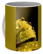 Close View Of Water Droplets Coffee Mug