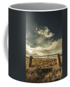 Closed Gates And Open Paddocks Coffee Mug