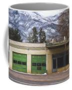 Closed Service Station Painterly Impressions Coffee Mug