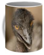 Closeup Of A Captive Emu Coffee Mug