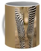 Closeup Of A Grevys Zebras Legs Equus Coffee Mug
