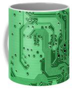 Closeup Of A Motherboard Coffee Mug