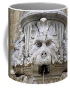 Closeup Of A Public Fountain In Dubrovnik Croatia Coffee Mug