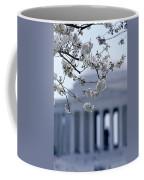 Closeup Of Cherry Blossoms Coffee Mug