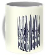Clothespin Coffee Mug