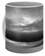 Cloud Above Lake Simcoe Bw  Coffee Mug