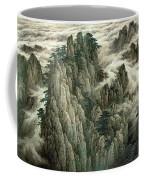 Cloud And Mountain Peak Coffee Mug