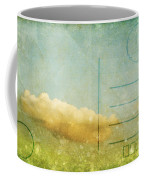 Cloud And Sky On Postcard Coffee Mug
