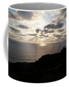 Cloud Break Sunset At  State Natural Reserve In San Diego Coffee Mug