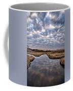 Cloud Covered River 2 Coffee Mug