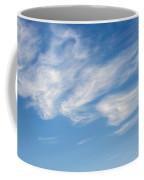 Cloud Faces Coffee Mug