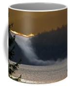 Cloud Fall On Crescent Lake Coffee Mug