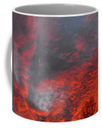 Cloud Fire With Rays Coffee Mug