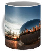 Cloud Gate At Sunrise Coffee Mug