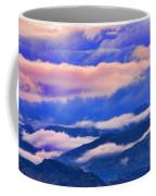 Cloud Layers At Sunset Coffee Mug