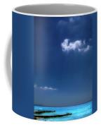 Cloud Over The Pier Coffee Mug