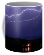 Cloud To Cloud Horizontal Lightning Coffee Mug