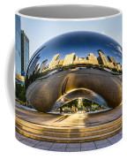 Cloudgate In Chicago Coffee Mug