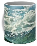 Clouds Alaska Mtns  Coffee Mug