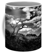 Clouds And A Tree Baw Coffee Mug