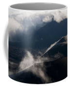 Clouds And Cinder Cones Coffee Mug