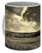 Clouds And Cornfields Coffee Mug