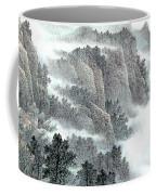 Clouds And Mountains Coffee Mug