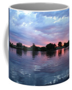 Clouds And Sunset Reflection In Prosser Coffee Mug