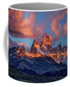 Clouds Around Fitz Roy - Patagonia Coffee Mug