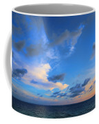 Clouds Drifting Over The Ocean Coffee Mug