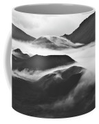 Maui Hawaii Haleakala National Park Clouds In Haleakala Crater Coffee Mug
