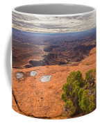 Clouds Junipers And Potholes Coffee Mug
