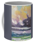 Clouds Of Mt Hood Coffee Mug