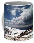Clouds On The Mountain Coffee Mug