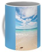 Clouds Over Blue Sea Coffee Mug